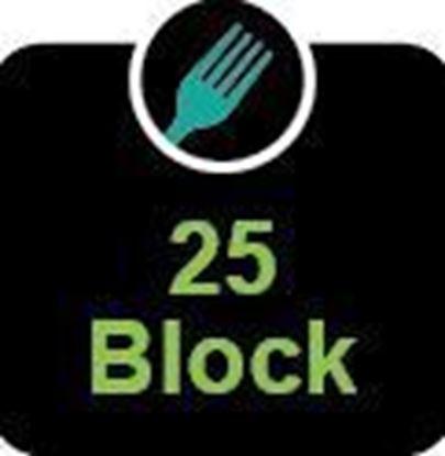 25 block